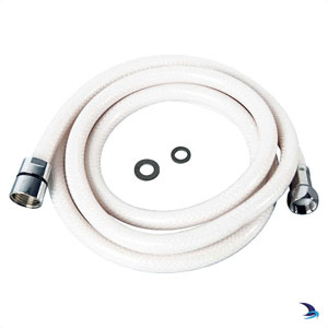 Whale - Shower Hose for Whale Elegance - Swim 'n' Rinse ½'' Bsp White (2.1m)